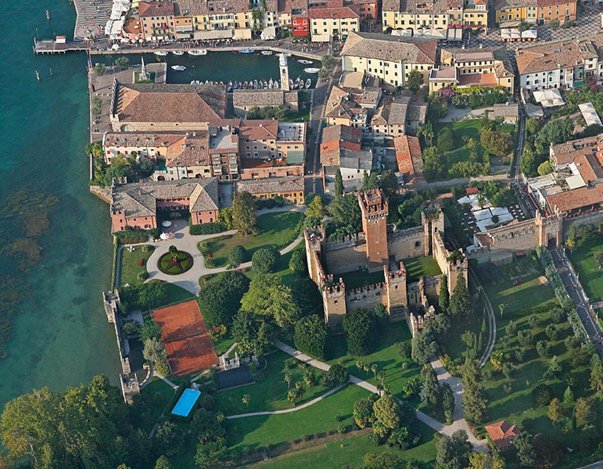 Lazise, in gita al Castello Scaligero